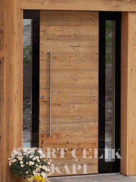 SVK-012 kompozit villa kapısı kompak lamine villa kapısı modelleri villa giriş kapıları villa giriş kapısı modelleri özel tasarım villa kapıları