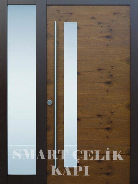 SVK-013 kompozit villa kapısı kompak lamine villa kapısı modelleri villa giriş kapıları villa giriş kapısı modelleri özel tasarım villa kapıları