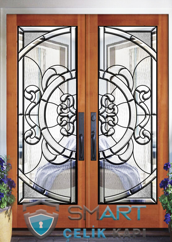 Villa Giriş Kapısı Kompozit Kaplama SVaK017