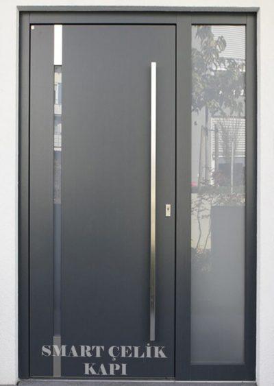SVK-017 kompozit villa kapısı kompak lamine villa kapısı modelleri villa giriş kapıları villa giriş kapısı modelleri özel tasarım villa kapıları