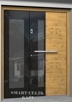 Villa Giriş Kapısı Kompak Kaplama SVK018