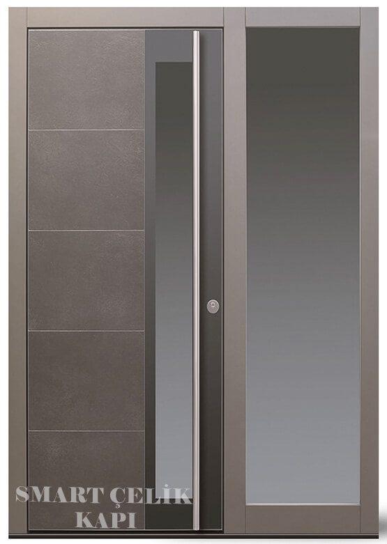 SVK-019 kompozit villa kapısı kompak lamine villa kapısı modelleri villa giriş kapıları villa giriş kapısı modelleri özel tasarım villa kapıları