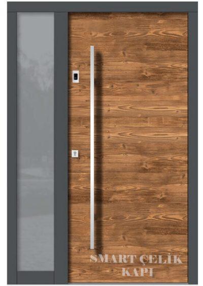 SVK-020 kompozit villa kapısı kompak lamine villa kapısı modelleri villa giriş kapıları villa giriş kapısı modelleri özel tasarım villa kapıları