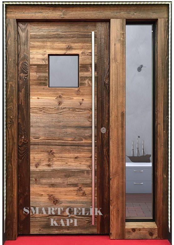 SVK-022 kompozit villa kapısı kompak lamine villa kapısı modelleri villa giriş kapıları villa giriş kapısı modelleri özel tasarım villa kapıları