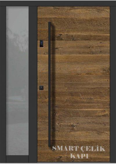SVK-024 kompozit villa kapısı kompak lamine villa kapısı modelleri villa giriş kapıları villa giriş kapısı modelleri özel tasarım villa kapıları