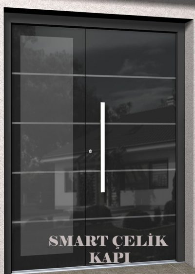 SVK-030 kompozit villa kapısı kompak lamine villa kapısı modelleri villa giriş kapıları villa giriş kapısı modelleri özel tasarım villa kapıları