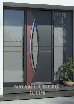 Villa Giriş Kapısı Kompozit Kaplama SVE02