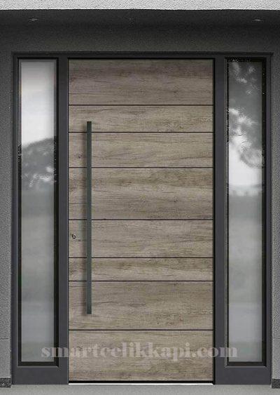 SVK-033 kompozit villa kapısı kompak lamine villa kapısı modelleri villa giriş kapıları villa giriş kapısı modelleri özel tasarım villa kapıları