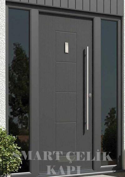 SVK-040 kompozit villa kapısı kompak lamine villa kapısı modelleri villa giriş kapıları villa giriş kapısı modelleri özel tasarım villa kapıları