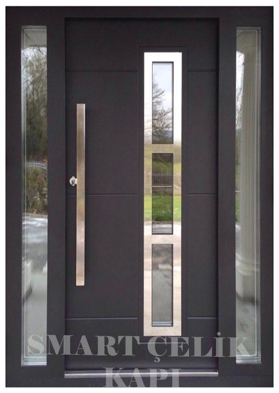 SVK-041 kompozit villa kapısı kompak lamine villa kapısı modelleri villa giriş kapıları villa giriş kapısı modelleri özel tasarım villa kapıları