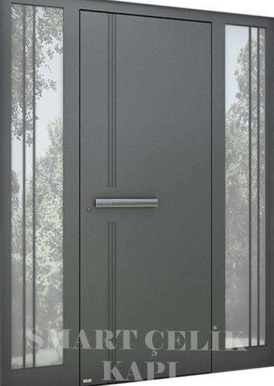 SVK-042 kompozit villa kapısı kompak lamine villa kapısı modelleri villa giriş kapıları villa giriş kapısı modelleri özel tasarım villa kapıları