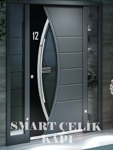 SVK-043 kompozit villa kapısı kompak lamine villa kapısı modelleri villa giriş kapıları villa giriş kapısı modelleri özel tasarım villa kapıları