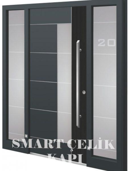 SVK-044 kompozit villa kapısı kompak lamine villa kapısı modelleri villa giriş kapıları villa giriş kapısı modelleri özel tasarım villa kapıları