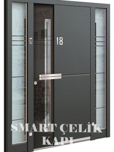 SVK-045 kompozit villa kapısı kompak lamine villa kapısı modelleri villa giriş kapıları villa giriş kapısı modelleri özel tasarım villa kapıları