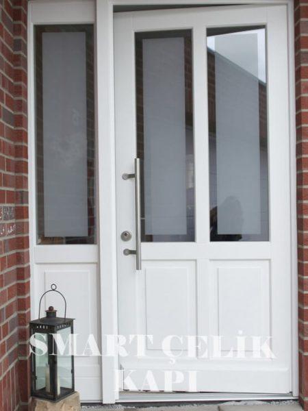 SVK-07 kompozit villa kapısı kompak lamine villa kapısı modelleri villa giriş kapıları villa giriş kapısı modelleri özel tasarım villa kapıları