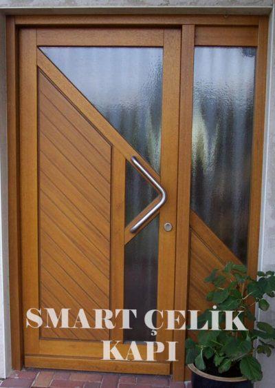 SVK-09 kompozit villa kapısı kompak lamine villa kapısı modelleri villa giriş kapıları villa giriş kapısı modelleri özel tasarım villa kapıları