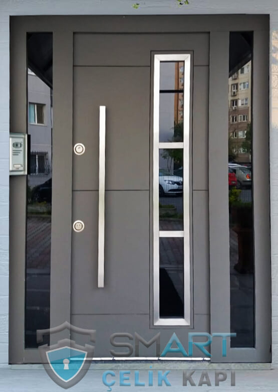 Villa Giriş Kapısı Kompak Kaplama SVE08
