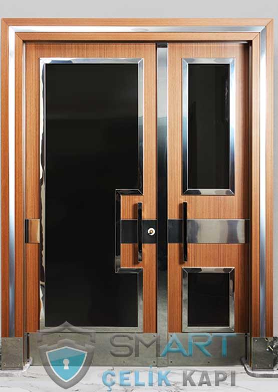 Kompozit Apartman Kapısı Bina Giriş Kapısı SBK-033