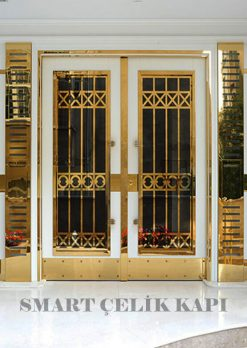 Kompozit Apartman Kapısı Bina Giriş Kapısı SBK-016
