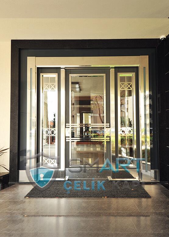 Kompozit Apartman Kapısı Bina Giriş Kapısı SBK-007