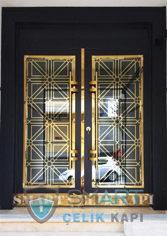 Kompozit Apartman Kapısı Bina Giriş Kapısı SBK-003