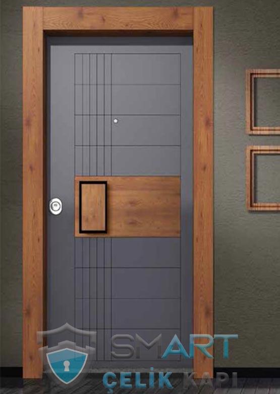 Modern Çelik Kapı Shadows