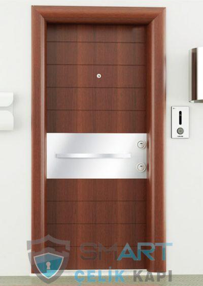 Aura Çelik Kapı Kompak Lamine Yağmura Dayanıklı Modern Çelik Kapı Fiyatları