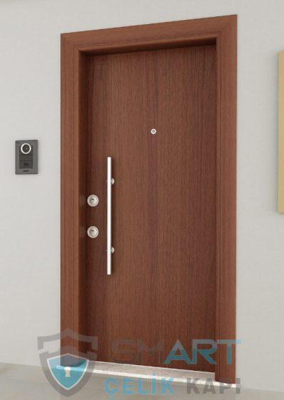 Chelsea modern çelik kapı modelleri dila ahşap kaplama çelik kapı daire kapısı