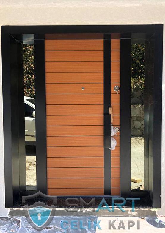 Kompak Lamine Kaplama Modern Villa Giriş Kapısı AV029
