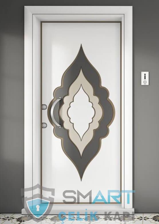 Saray Dijital Baskı Modern Çelik Kapı