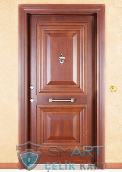 Katarina Klasik Çelik Kapı alarmlı çelik kapı modelleri parmak izi okuyuculu çelik kapı