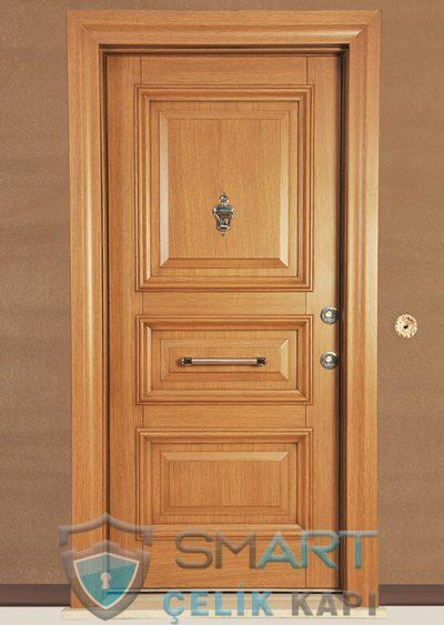Lidya Klasik Çelik Kapı alarmlı çelik kapı modelleri parmak izi okuyuculu çelik kapı