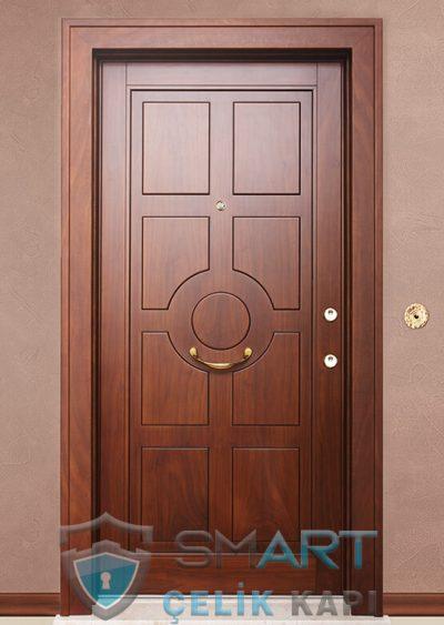 Live Klasik Çelik Kapı alarmlı çelik kapı modelleri parmak izi okuyuculu çelik kapı
