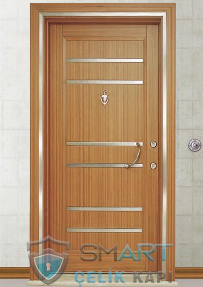 Night Klasik Çelik Kapı alarmlı çelik kapı modelleri parmak izi okuyuculu çelik kapı