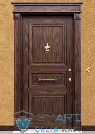 Sun Klasik Çelik Kapı alarmlı çelik kapı modelleri parmak izi okuyuculu çelik kapı