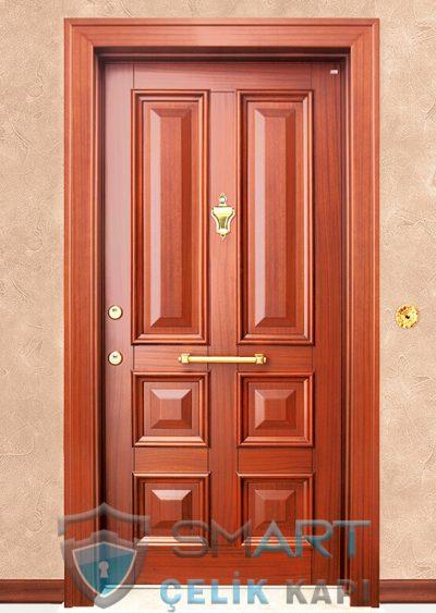 Thor Klasik Çelik Kapı alarmlı çelik kapı modelleri parmak izi okuyuculu çelik kapı