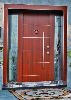 Kompak Lamine Kaplama Modern Villa Giriş Kapısı SVK-037
