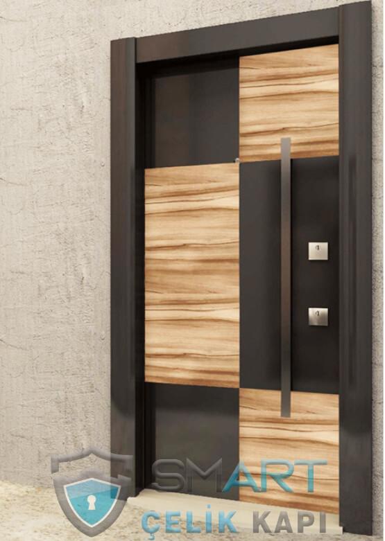Modern Estetik Çelik Kapı CQ7