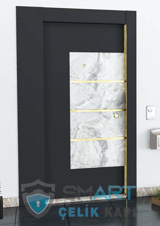 Elanor Kompozit Çelik Kapı Dış Etkenlere Dayanıklı