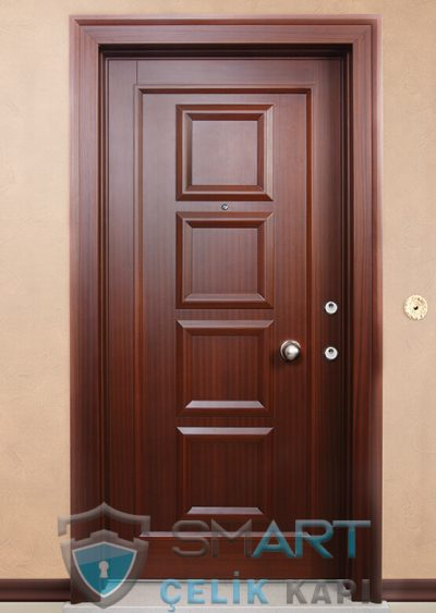 island Klasik Çelik Kapı alarmlı çelik kapı modelleri parmak izi okuyuculu çelik kapı