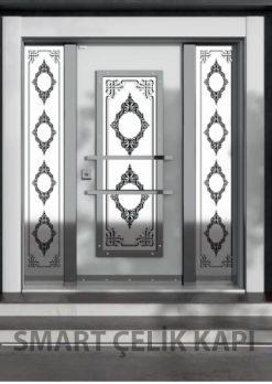Kompozit Kaplama Ferforjeli Villa Giriş Kapısı SVK-035
