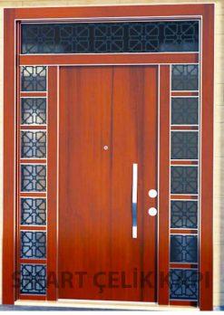 Kompak Lamine Kaplama Modern Villa Giriş Kapısı SVK-039