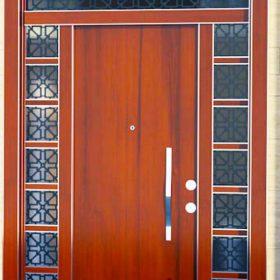 villa kapısı 5 ahşap kaplama villa kapısı özel üretim villa kpaısı kompozit villa kapısı