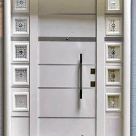 villa kapısı 6 ahşap kaplama villa kapısı özel üretim villa kpaısı kompozit villa kapısı