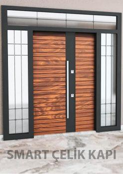 Kompak Lamine Kaplama Modern Villa Giriş Kapısı SVK-038