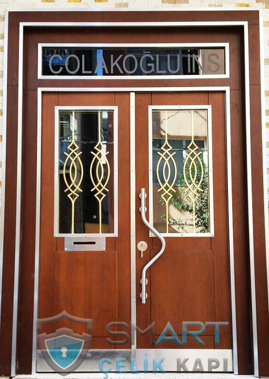 Kompozit Apartman Kapısı Bina Giriş Kapısı SBK-037