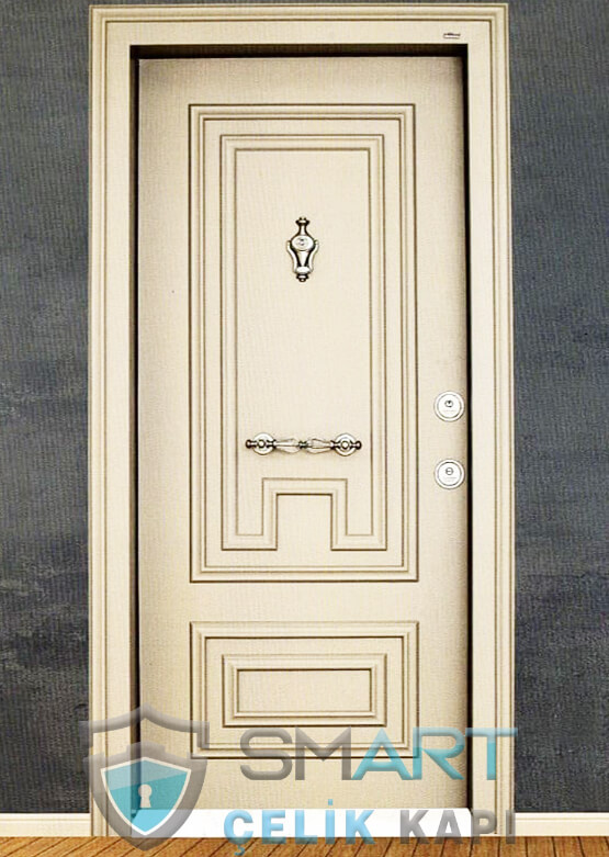 Çelik Kapı Kabartmalı Lüks Felicita