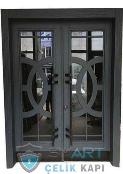 bina giriş kapısı modelleri şifreli apartman kapısı modelleri