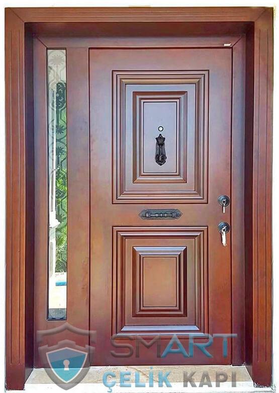 Villa Kapısı Modelleri Ahşap Kaplama Floriana