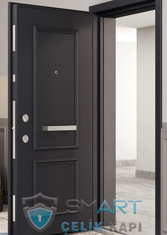 Klasik Çelik Kapı Kabartmalı Lüks Hermes